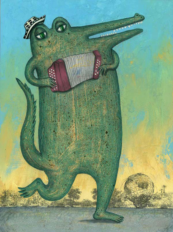 Edgar, personaje ilustrado de Larry y sus amigos
