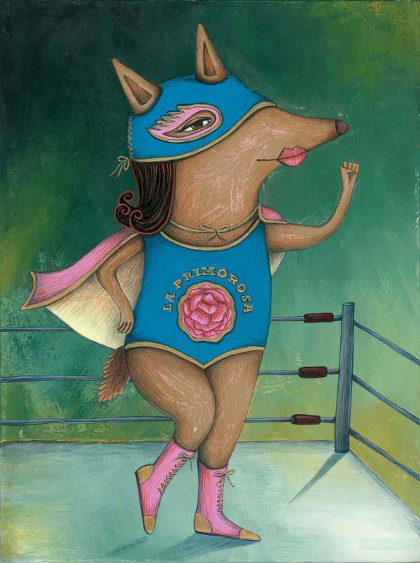 Rosita, personaje ilustrado de Larry y amigos