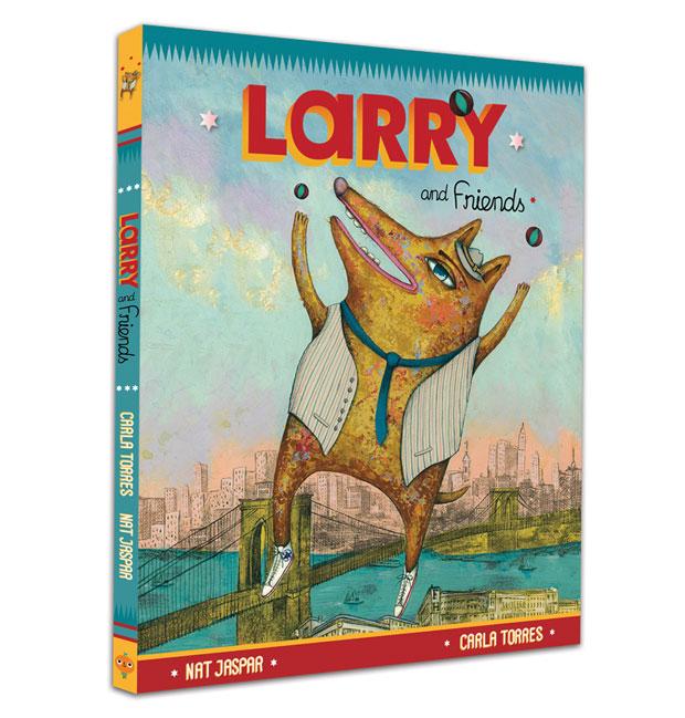 Larry & Friends – libro ilustrado por Carla Torres
