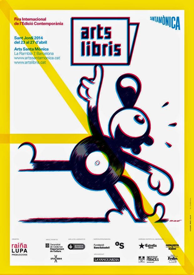 Max, cartel Arts Libris 2014
