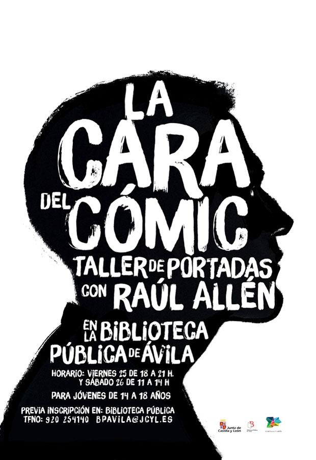 Raúl Allén – Taller: La cara del Cómic