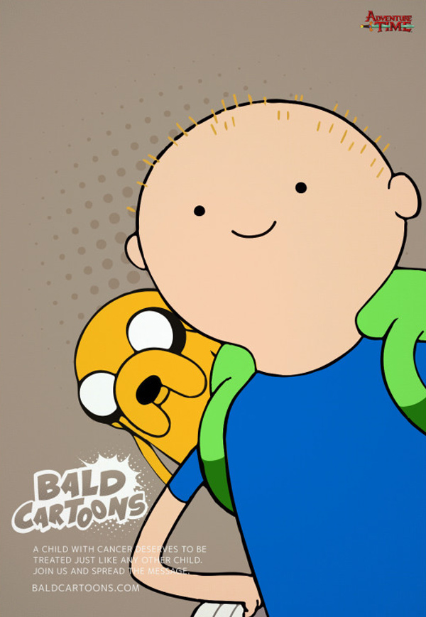 Bald Cartoons – Adventure Time