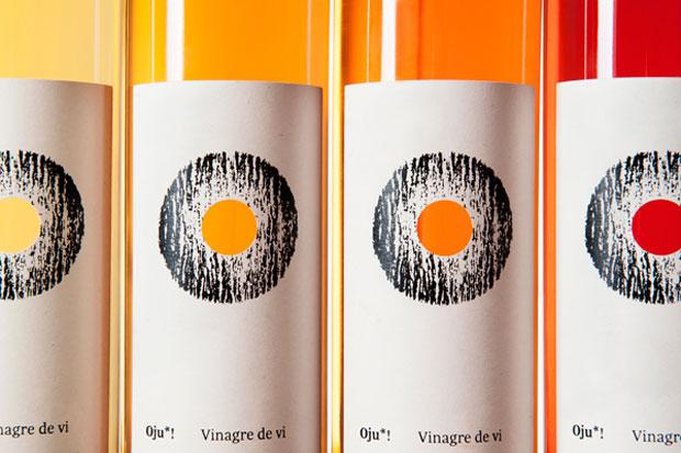 Oju! Vinagre de vi – packaging y branding de Senyor Estudi