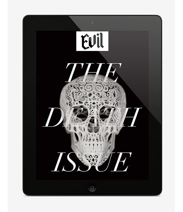 José Fresneda – Evil _ magazine digital – cover