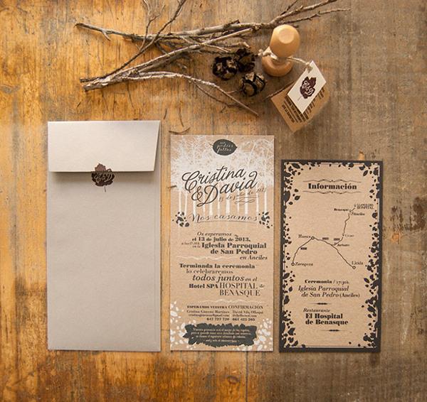 invitaciones de boda – El Calotipo