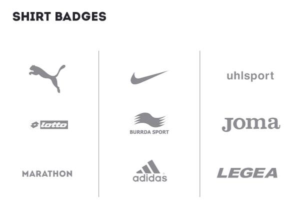 marcas deportivas de las camisetas oficiales del Mundial Brasil 2014