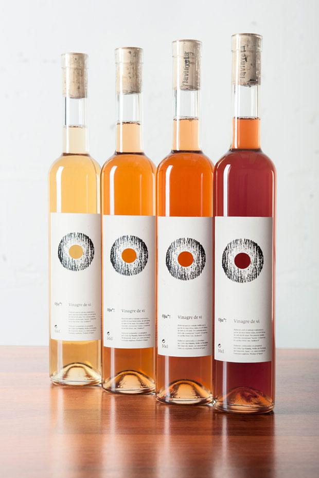 Oju! vinagre de vi – packaging branding Senyor Estudi