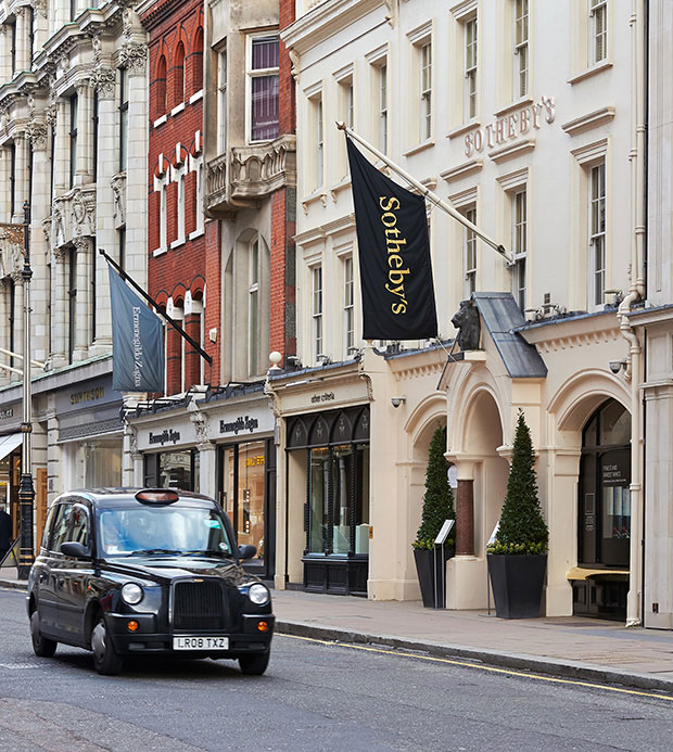 Abbott Miller de Pentagram rediseña la identidad de Sotheby's