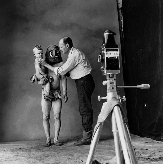 Irving Penn, fotografías tribus