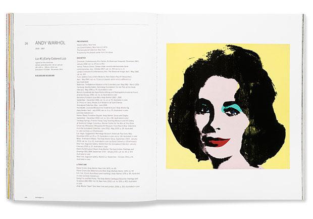 Sotheby's – proyecto editorial de Pentagram