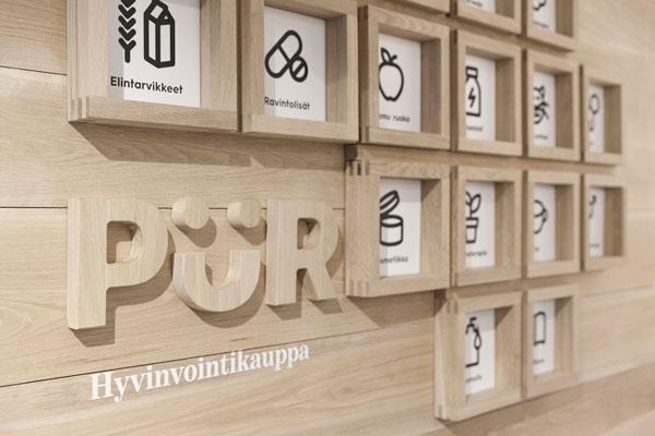 Pür – identidad visual de los finlandeses Bond