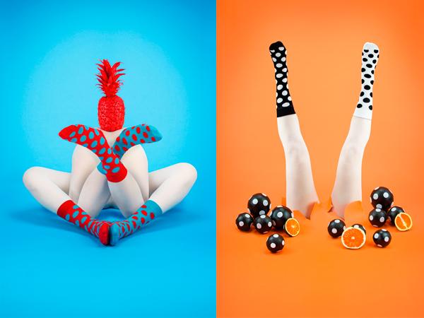 Imágenes para la campaña de Odd Pears