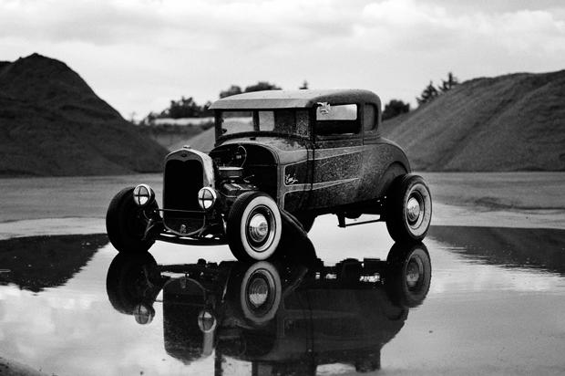 Fotografía de la serie Dusty rust