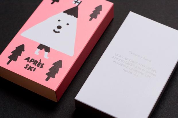 Diseño de la caja 'Apres Ski'