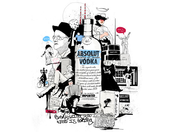 Diseño para Absolut Vodka