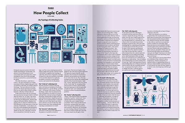 Ilustración para la revista Art Asia Pacific