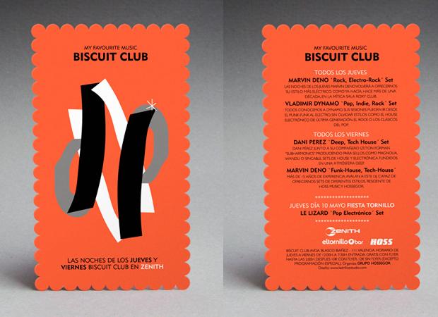 Diseño para 'Biscuit Club'