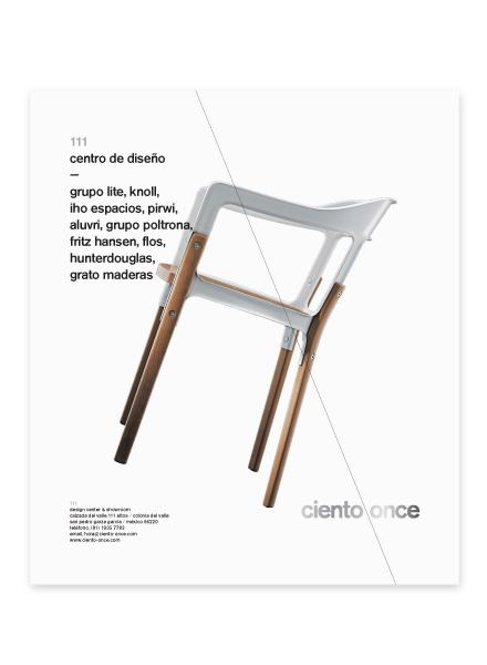 Diseño editorial para Ciento Once