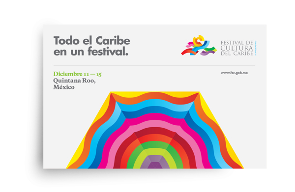 Diseño de identidad para el Festival de Cultura del Caribe