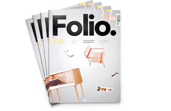 Disñeo editorial Folio