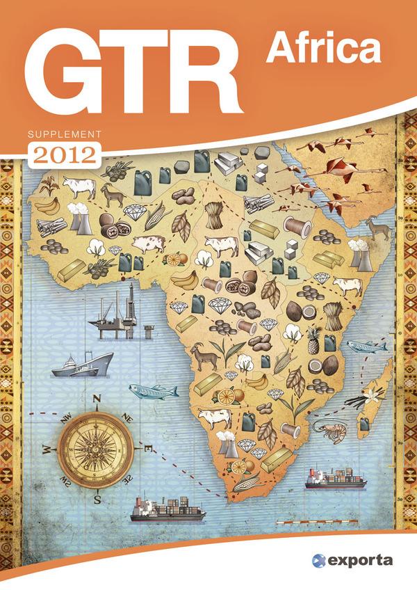 Ilustración para la portada de la revista de GTR