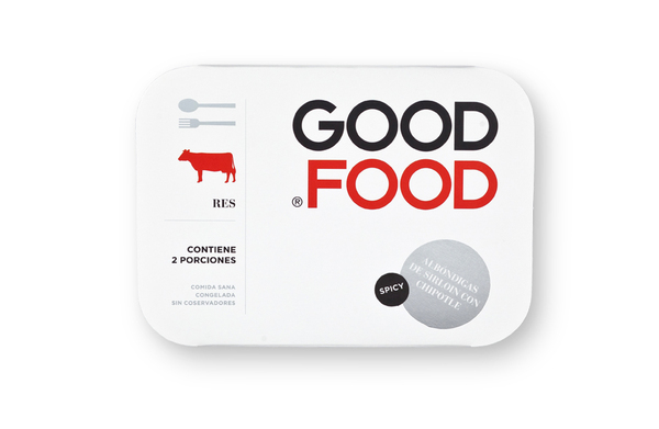 Diseño de packaging Good Food
