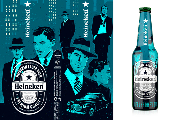 Diseño de packaging para Heineken