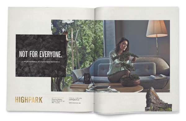 Diseño editorial: Highpark