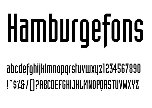 Industria. Tipografía diseñada por Neville Brody en 1989
