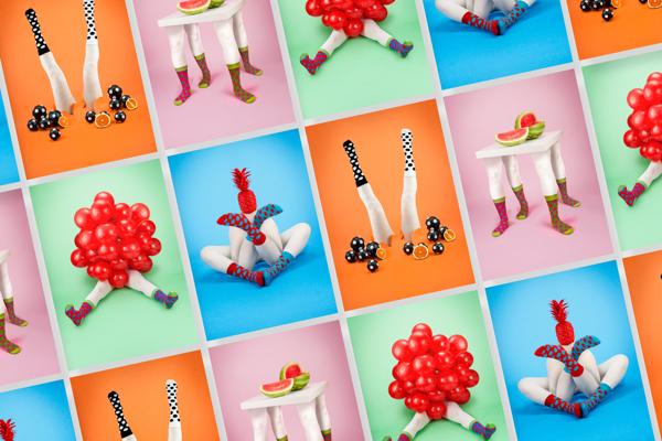 Conjunto de imágenes para la campaña de Odd Pears
