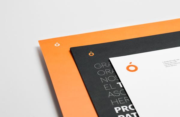 Diseño de identidad y aplicaciones de la marca para Orange Investments