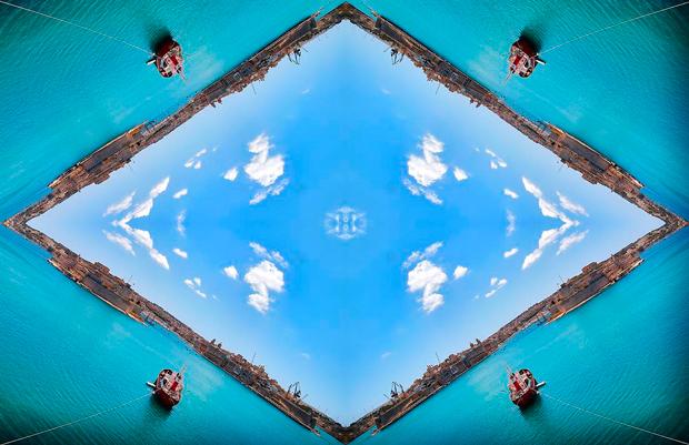 Fotografía pertenenciente a la serie titulada Sky Vision