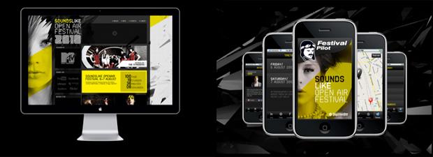 Diseño de web y aplicaciones para Soundslike Festival