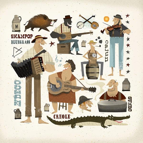 Ilustración titualda Southern Comfort