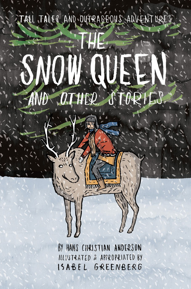 Novela gráfica titulada The Snow Queen and other stories