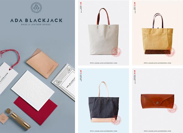 Diseño de identidad Ada Blackjack