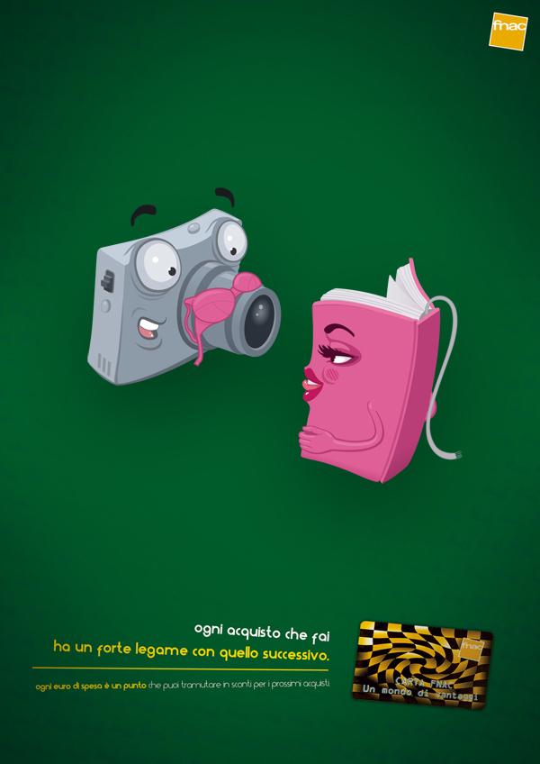 Ilustración para pieza publicitaria para Fnac