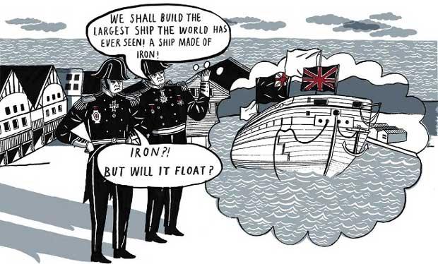 Ilustración para cómic realizado por Isabel Greenberg