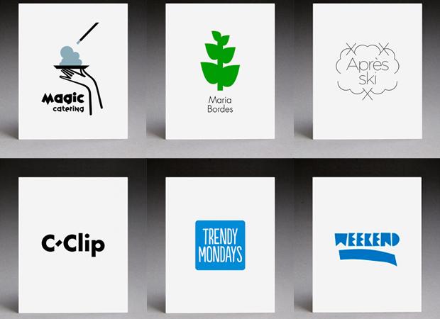 Serie de logotipos diseñados por Antonio Ladrillo
