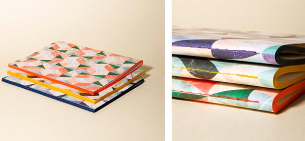 Diseño de libretas titulado Marbre Notes