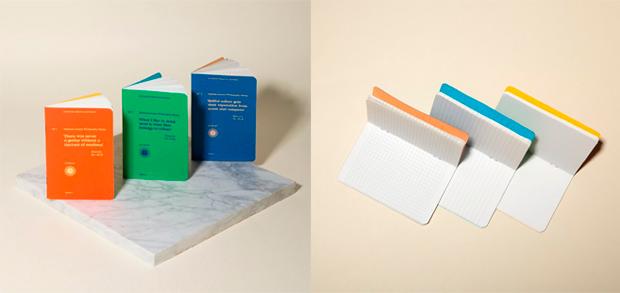 Diseño de libretas, titulado Philosophy