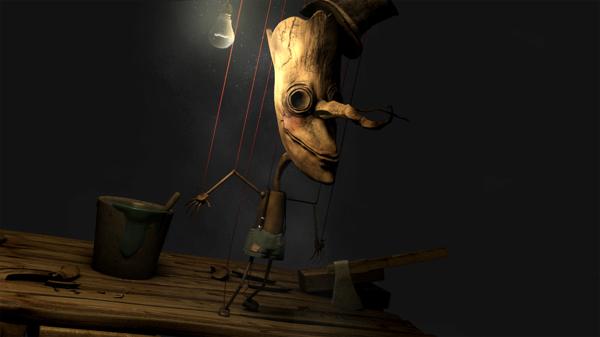 Ilustración titulada Pinocho