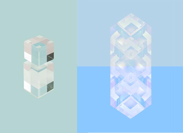 Diseño de salvapantallas, Reflections