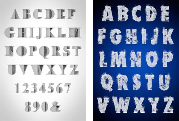 Tipografía experimental en 3D