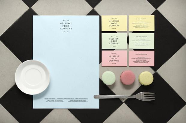 Helsinki Food Company – branding diseño de Werklig studio