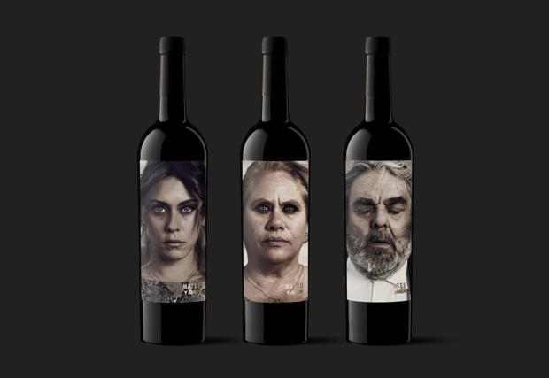 Moruba – Matsu y Amén – packaging etiquetas de vino