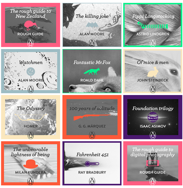 The Digital Book – ebook Penguin covers