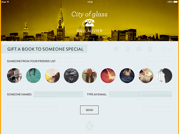 The Digital Book – compartir