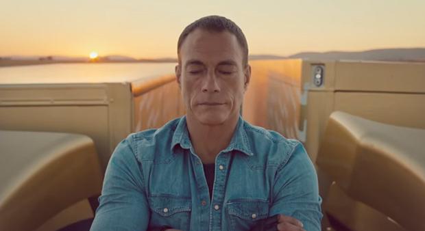 Van Damme se lleva el Oro con 'The Epic Split'