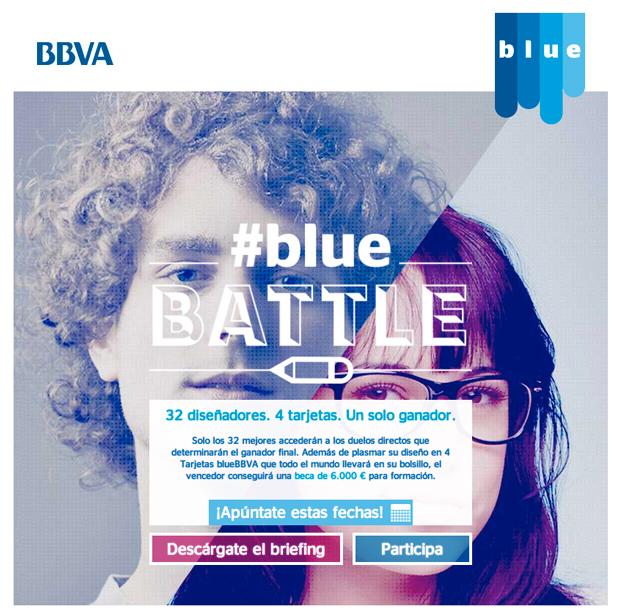 Concurso de diseño BlueBattle BBVA